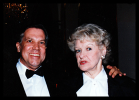 Terry Hodge Taylor and Elaine Stritch